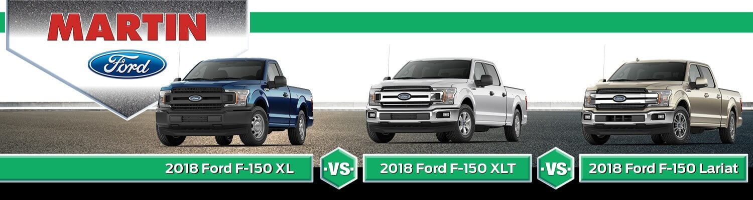 Ford F 150 Trim Levels >> 2018 Ford F 150 Xl Vs Xlt Vs Lariat Price Similarities