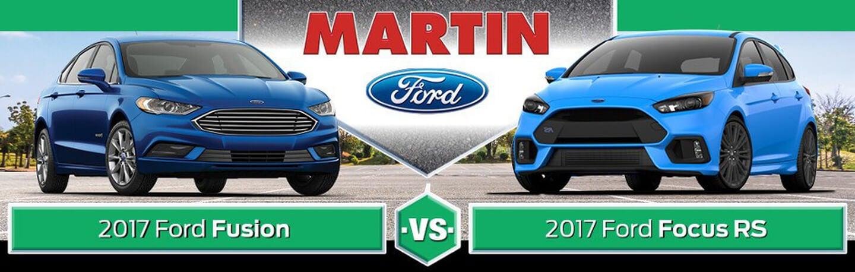 2017 Ford Fusion Vs Focus