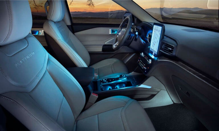 2020 Ford Explorer Overview Interior Technology Features